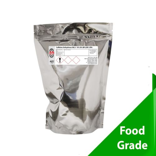 CAFEINE POUDRE  250 GR PURE ANHYDROUS 100% PURE