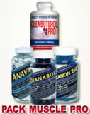 Pack Muscle Complet: Anavar-Sustanon-Dianabol-Clenbuterol