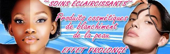 Acheter le produit blanchir la peau