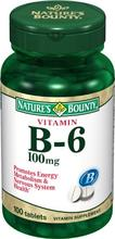 Bounty Nature de la vitamine B6,