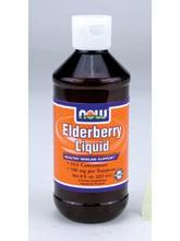 NOW Foods Liquid - Sureau 8 fl oz