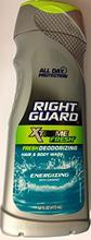 Right Guard Hair & Body Wash -