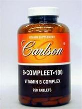 Carlson Labs vitamine B-1, 100 mg,