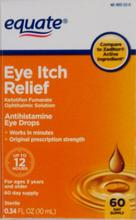 Equate Eye Itch Relief