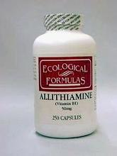 Allithiamine 50 mg 250 Caps par