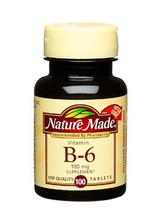 Nature Made Vitamine B-6, 100 mg