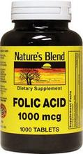 Acide folique 1000 mcg 1000 mcg