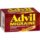 Pack of 3 EACH ADVIL MIGRAINE CAP