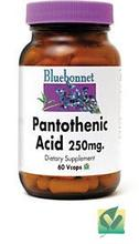 Acide pantothénique 250mg - 60 -