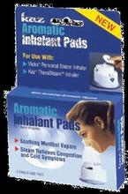 Kaz inhalation Pads, aromatique,