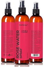8oz d'eau de ROSE bio SPRAY -