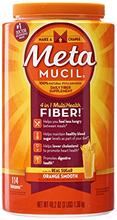 Metamucil texture lisse orange