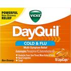 DayQuil Rhume et grippe LiquiCaps,