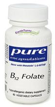 B12 folate (60 Caps) par Pure