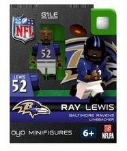 Ray Lewis NFL Oyo Mini Figure Lego