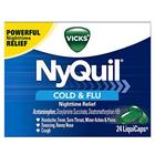4 Pack - Vicks NyQuil Rhume et