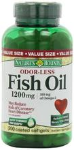 Bounty Inodore Fish Oil 1200mg de