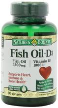 Bounty Omega 3 plus D3 Nature