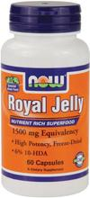 NOW Foods Gelée Royale 1500mg, 60