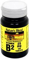 Nature Blend de vitamine B-2, 25