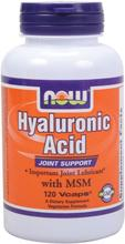 NOW Foods Acide Hyaluronique 100mg