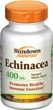 Sundown Capsules d'Echinacea 400mg