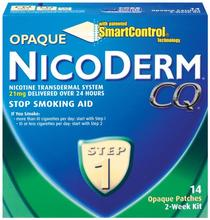 NicoDerm CQ Step 1 Patch Opaque,