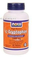 Now Foods 1000mg L-tryptophane,