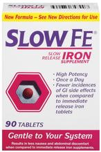 Slow Fe Slow Release Iron Tablets