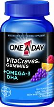 One A Day Vitacraves Plus Oméga-3