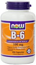 NOW Foods La vitamine B-6, 250
