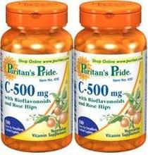 Puritains fierté vitamine C à
