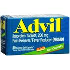 Advil Gel caplets 50 caplets