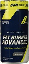 API USA avancée Fat Burner, comte