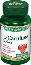Nature's Bounty L-Carnitine 500mg,