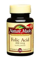 Nature Made Acide folique 400mcg,