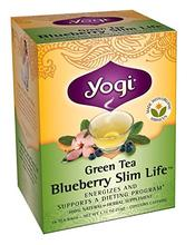 Yogi Tea Green Tea Blueberry Slim