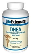 Life Extension DHEA, 25 mg,