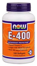 Now Foods E-400, soft-gels,