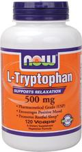 NOW Foods L-tryptophane 500 mg,