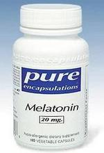 La mélatonine Pure Encapsulations