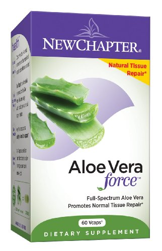 New Chapter Aloe Vera force, 60 Veg Capsules