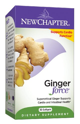 New Chapter Gingerforce, 60 gélules