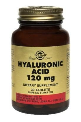 Acide Hyaluronique  SOLGAR 120mg - 30 - Tablet