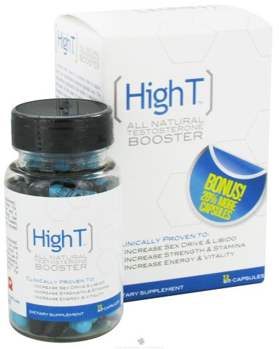 High T All Natural Testosterone Booster 72 Caps