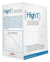 High T - High T -All Natural Testosterone Booster, 60 capsules