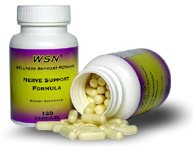 Nerve Support Formula for Relief of Peripheral, Diabetic & Poly Neuropathy Nerve Pain
