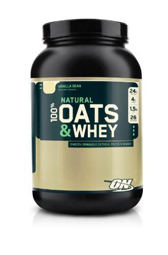 Optimum Nutrition 100% Natural Oats and Whey Vanilla Bean, 3 Pound