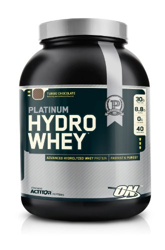 Optimum Nutrition Platinum Hydro Whey, Turbo Chocolate, 3.5 Pound