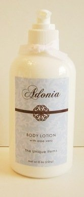 Adonia Waterlily & Lotion pour le corps Lotus à l'Aloe Vera - 8 oz